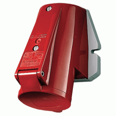 IP44 Mennekes sockets 32A5P 6H400V are wall