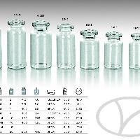 Флаконы из трубки стеклянной для лекарственны