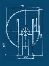 Вентилятор ВР 189-57.1-4 (ОЦ 9-57.4), Агрегати