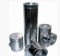 Flue from stainless steel