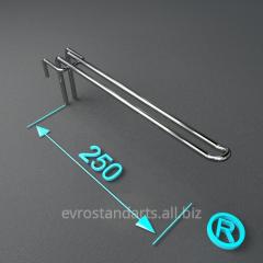 Крючки торговые двойные 250 мм