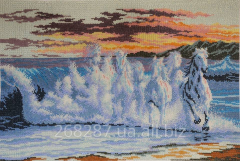 """Picture """"Mirage"""". Embroidered"""