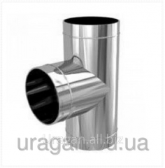 Tee for a flue of 140 mm