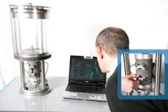 Laboratory equipment for testing of concrete and