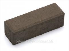 Плитка тротуарна Паркет 21-7-6 графіт