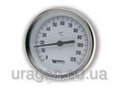 Thermometer bimetallic WATTS F+R801 OR/S 63 0-120