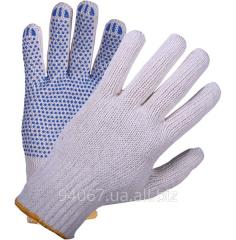 Перчатки Х/Б с точкой ПВХ