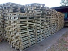 Паллеты, поддоны грузовые деревянные поддоны для