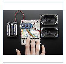 P_dsilyuvach Adafruit Audio FX Sound Board + 2x2W