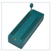 DIP panel of a 40-kontaktn z nulyovy zusillyam