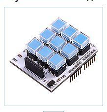 Klav_atura Key Pad Shield 3x3 for Arduin