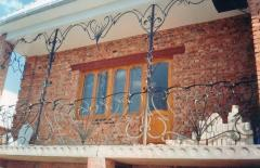 Protections of balconies shod