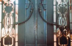 Gate the forged entrance