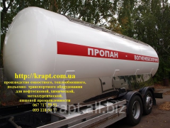 Tanker for transportation of the liquefied