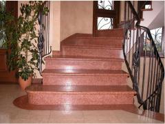 Steps marble
