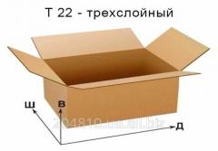 Gofroyashchiki 300х200х100, brown. Cardboard boxes