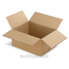 Gofroyashchiki 350х250х250 brown. Cardboard boxes