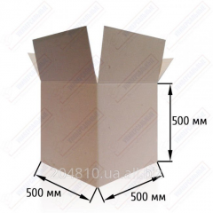 Gofrokorob T-23 brown. Size: 500*500*500 mm