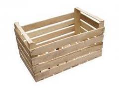 Ящики и коробки тарные деревянные от производителя