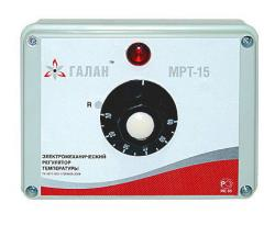 Electromechanical regulator of temperature