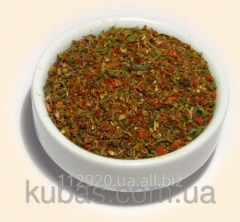 Mix of spices for forcemeat with sal