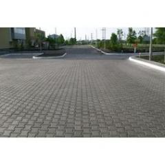 Тротуарная плитка Двойное Т 80*170*200 мм серая