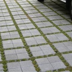Тротуарная плитка ЗКО 80*200*200 мм серая