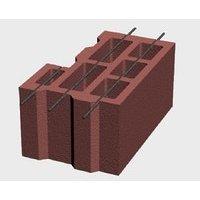 Block of angular ceramsite M50 396*250*190 mm