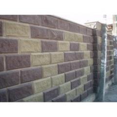 Block fragmentary stone of 390х190х190 mm