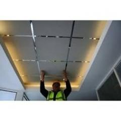 False ceiling Armstrong white