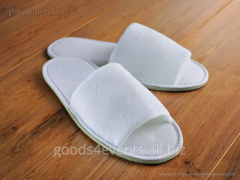 Slippers are hotel