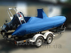 Awnings for boats of PVC (PVC)