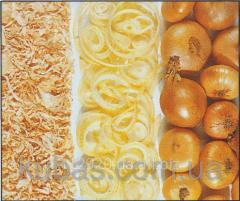 Cut powdered onion