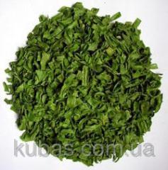 Parsley greens dried