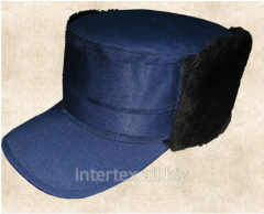 Cap winter shopping mall. the gretta is blue/black