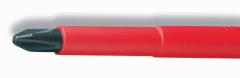 Отвертка крестовая VDE Phillips Cimco согласно DIN ISO 8764 1000В PH1 80мм