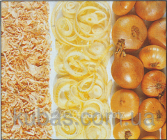 Cut powdered onion weight - fried