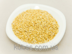 Onions of dried ground weight 1*3 mm