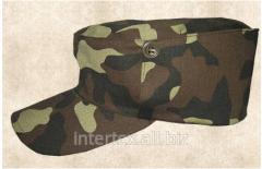 Cap camouflage fabric serge