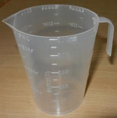 Volumetric glass of 150 grams (polypropylene) 0017