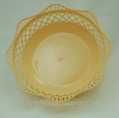 Plastic round bread basket 0040