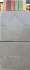 The tile pressed 550*550*80 in assortment color