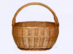 Economic baskets, the Light Basket, wattled