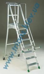 Профессиональные алюминиевые передвижные стремянки