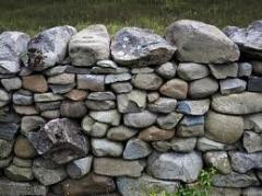 Камень карьерный, валуны