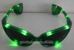 Светящейся очки LED