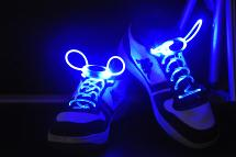 The shining laces