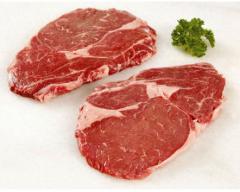 Мраморная говядина. Рибай стейк 120 дней зернового