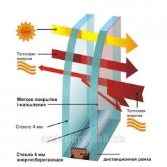 Double-glazed window energy saving single-chamber