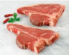 Мраморная говядина. Т-бон стейк 300 дней зернового
